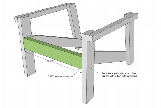 plans for front of chair
