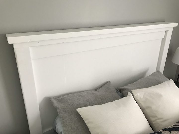 farmhouse bed headboard