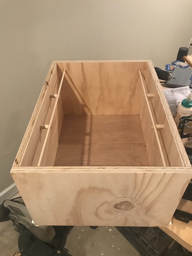 drawers being glued together