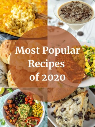 images of most popular 2020 recipes