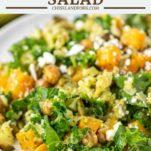 cauliflower salad on white plate